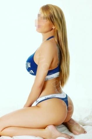 Tatiana masajista y bailarina erótica, en Madrid.